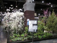 Boston Flower Show Exhibit
